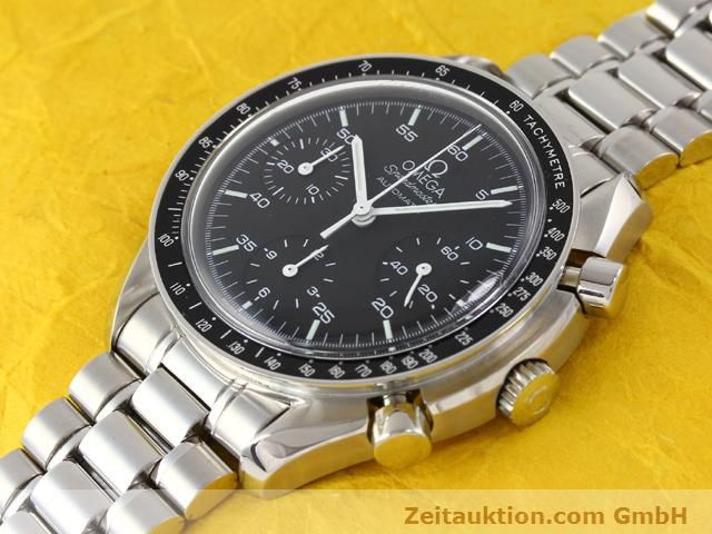 Used luxury watch Omega Speedmaster steel automatic Kal. 3220A  | 140798 01