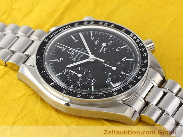 Used luxury watch Omega Speedmaster steel automatic Kal. 3220A  | 140798 13