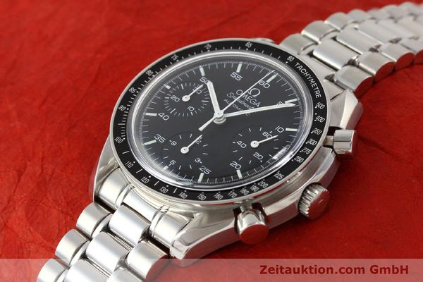 Used luxury watch Omega Speedmaster steel automatic Kal. 1143 ETA 2890A2  | 140799 01