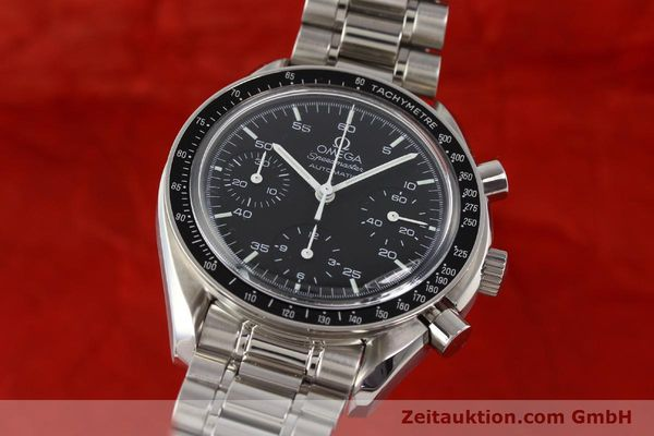 Used luxury watch Omega Speedmaster steel automatic Kal. 1143 ETA 2890A2  | 140799 04