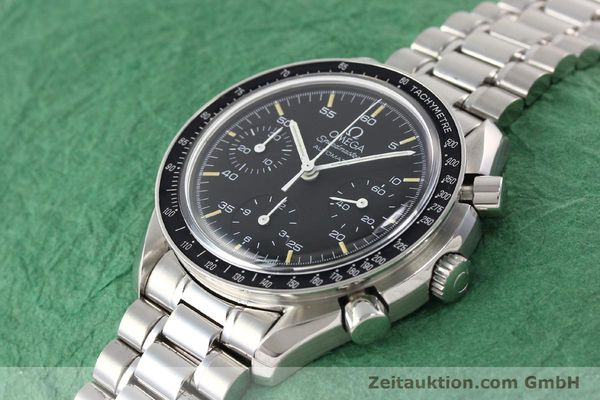 Used luxury watch Omega Speedmaster steel automatic Kal. 1141 ETA 2890A2  | 140802 01