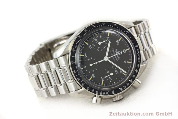 Used luxury watch Omega Speedmaster steel automatic Kal. 1141 ETA 2890A2  | 140802 03
