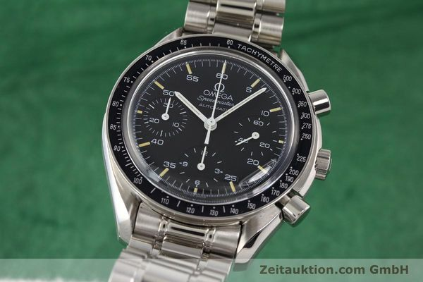 Used luxury watch Omega Speedmaster steel automatic Kal. 1141 ETA 2890A2  | 140802 04
