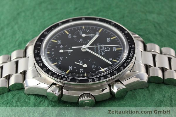 Used luxury watch Omega Speedmaster steel automatic Kal. 1141 ETA 2890A2  | 140802 05