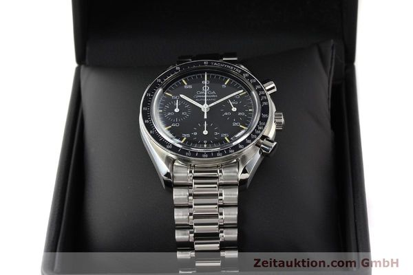 Used luxury watch Omega Speedmaster steel automatic Kal. 1141 ETA 2890A2  | 140802 07