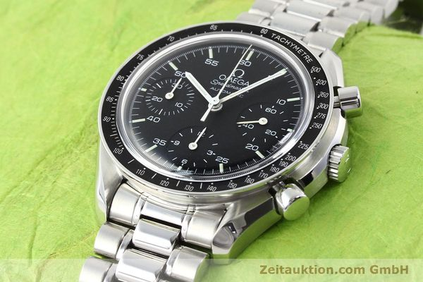 Used luxury watch Omega Speedmaster steel automatic Kal. 1143 ETA 2890A2  | 140805 01