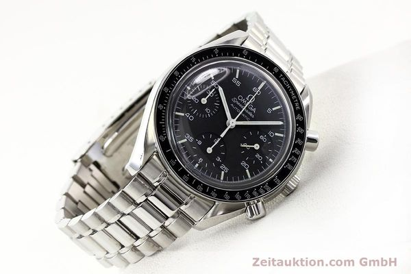 Used luxury watch Omega Speedmaster steel automatic Kal. 1143 ETA 2890A2  | 140805 02