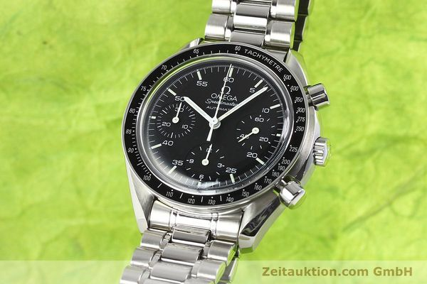 Used luxury watch Omega Speedmaster steel automatic Kal. 1143 ETA 2890A2  | 140805 03