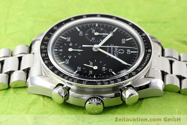 Used luxury watch Omega Speedmaster steel automatic Kal. 1143 ETA 2890A2  | 140805 04