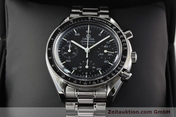 Used luxury watch Omega Speedmaster steel automatic Kal. 1143 ETA 2890A2  | 140805 06