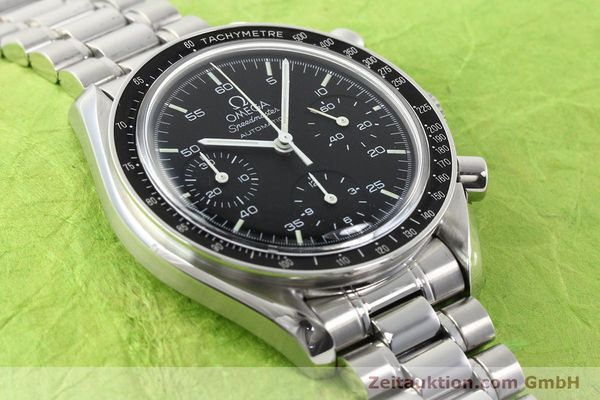 Used luxury watch Omega Speedmaster steel automatic Kal. 1143 ETA 2890A2  | 140805 13