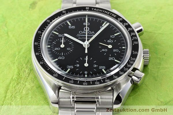 Used luxury watch Omega Speedmaster steel automatic Kal. 1143 ETA 2890A2  | 140805 14