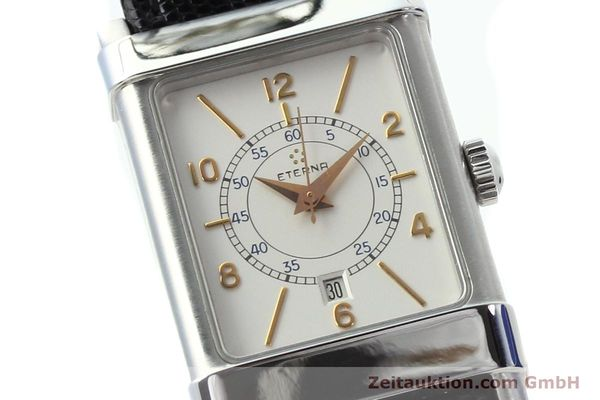 Used luxury watch Eterna 1935 steel automatic Kal. ETA 2671 Ref. 8890.41  | 140809 02