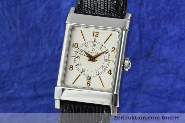 Used luxury watch Eterna 1935 steel automatic Kal. ETA 2671 Ref. 8890.41  | 140809 04