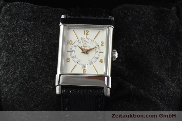 Used luxury watch Eterna 1935 steel automatic Kal. ETA 2671 Ref. 8890.41  | 140809 07