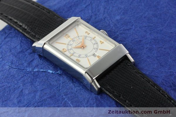 Used luxury watch Eterna 1935 steel automatic Kal. ETA 2671 Ref. 8890.41  | 140809 13
