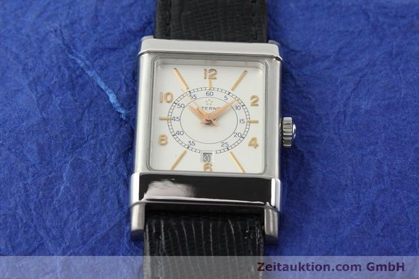 Used luxury watch Eterna 1935 steel automatic Kal. ETA 2671 Ref. 8890.41  | 140809 14