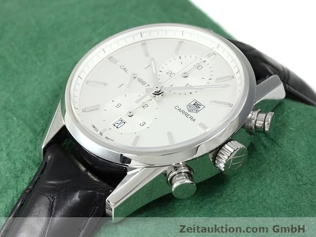 Used luxury watch Tag Heuer Carrera steel automatic Kal. 1887 Ref. CAR2111  | 140810 01