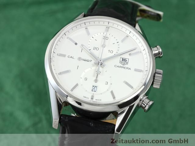 Used luxury watch Tag Heuer Carrera steel automatic Kal. 1887 Ref. CAR2111  | 140810 04