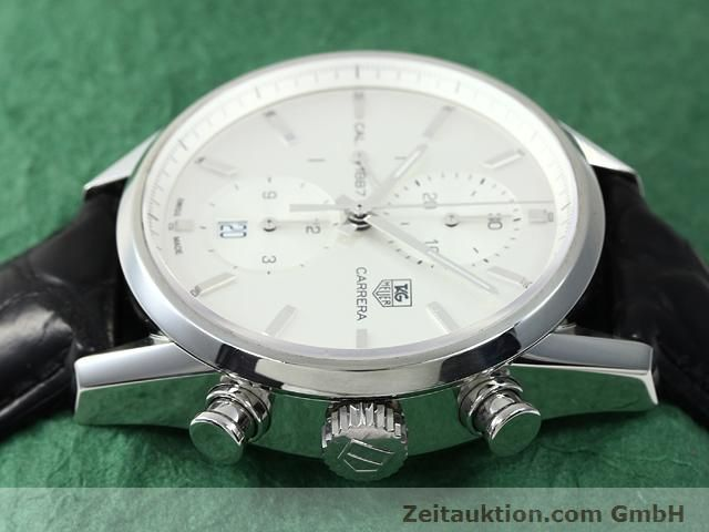 Used luxury watch Tag Heuer Carrera steel automatic Kal. 1887 Ref. CAR2111  | 140810 05