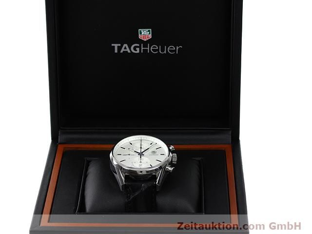 Used luxury watch Tag Heuer Carrera steel automatic Kal. 1887 Ref. CAR2111  | 140810 07