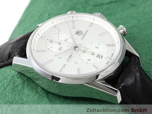 Used luxury watch Tag Heuer Carrera steel automatic Kal. 1887 Ref. CAR2111  | 140810 15
