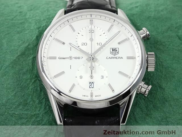 Used luxury watch Tag Heuer Carrera steel automatic Kal. 1887 Ref. CAR2111  | 140810 16