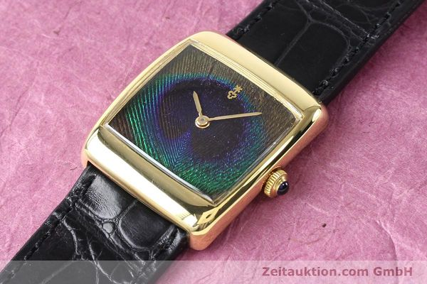 Used luxury watch Corum * 18 ct gold manual winding Kal. ETA 2512 Ref. 8728  | 140814 01