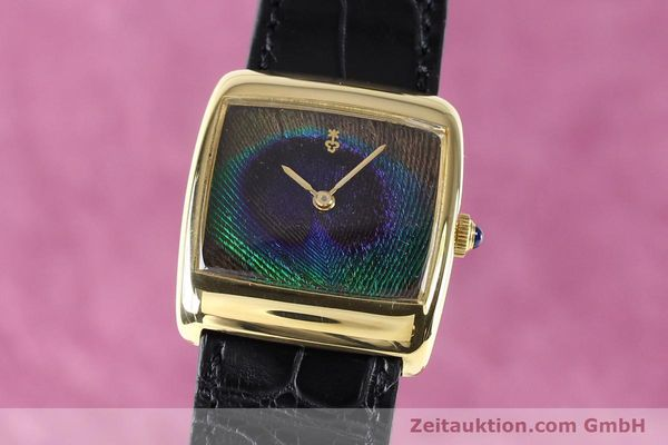 Used luxury watch Corum * 18 ct gold manual winding Kal. ETA 2512 Ref. 8728  | 140814 04
