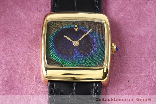 Used luxury watch Corum * 18 ct gold manual winding Kal. ETA 2512 Ref. 8728  | 140814 14