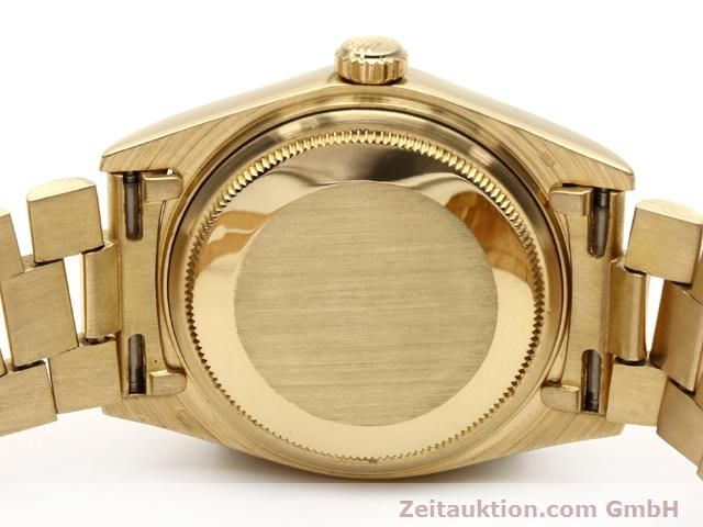 Used luxury watch Rolex Datejust 18 ct gold automatic Kal. 3055 Ref. 18038  | 140815 08