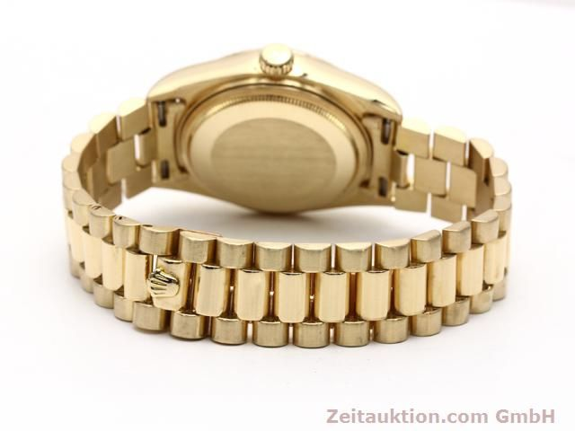 Used luxury watch Rolex Datejust 18 ct gold automatic Kal. 3055 Ref. 18038  | 140815 12