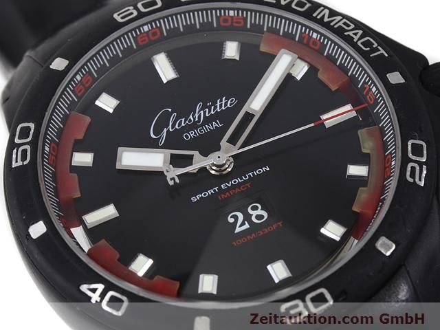 Used luxury watch Glashütte Sport Evolution  steel automatic Kal. 39  | 140816 02