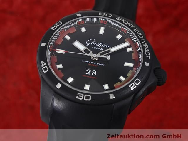 Used luxury watch Glashütte Sport Evolution  steel automatic Kal. 39  | 140816 04