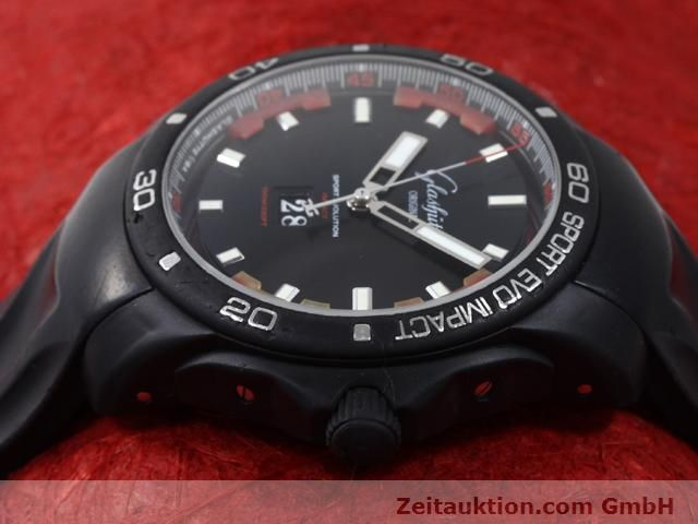 Used luxury watch Glashütte Sport Evolution  steel automatic Kal. 39  | 140816 05