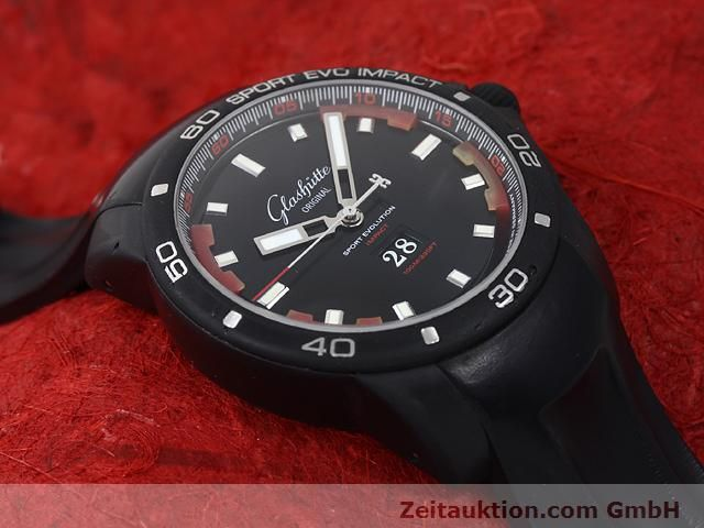 Used luxury watch Glashütte Sport Evolution  steel automatic Kal. 39  | 140816 14