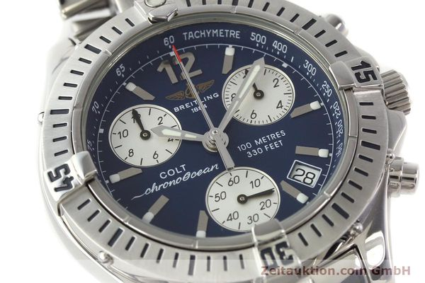 Used luxury watch Breitling Colt chronograph steel quartz Kal. B53 Ref. A53050  | 140819 02