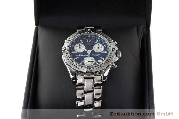 Used luxury watch Breitling Colt chronograph steel quartz Kal. B53 Ref. A53050  | 140819 07