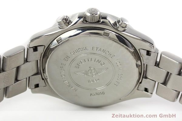 Used luxury watch Breitling Colt chronograph steel quartz Kal. B53 Ref. A53050  | 140819 09