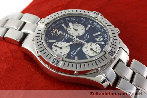 Used luxury watch Breitling Colt chronograph steel quartz Kal. B53 Ref. A53050  | 140819 12