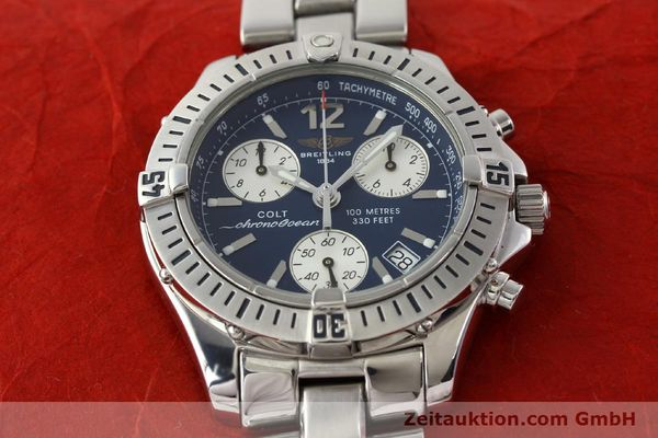 Used luxury watch Breitling Colt chronograph steel quartz Kal. B53 Ref. A53050  | 140819 13
