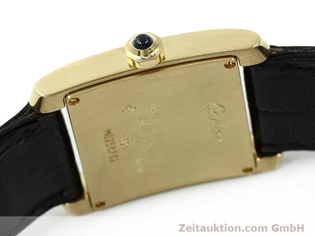 montre de luxe d occasion Cartier Tank or 18 ct quartz Kal. 157.06  | 140820 10