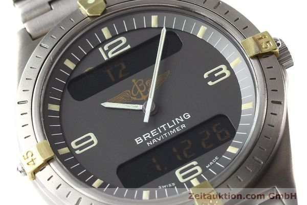 Used luxury watch Breitling Aerospace titanium / gold quartz Ref. 80360  | 140821 02