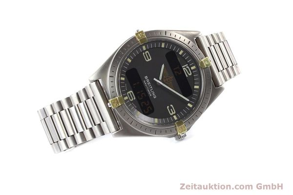 Used luxury watch Breitling Aerospace titanium / gold quartz Ref. 80360  | 140821 03