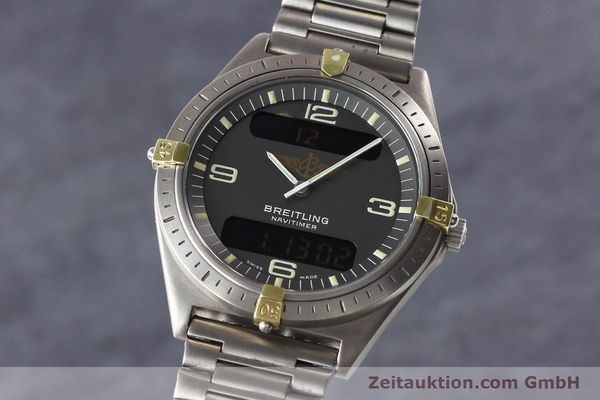 Used luxury watch Breitling Aerospace titanium / gold quartz Ref. 80360  | 140821 04