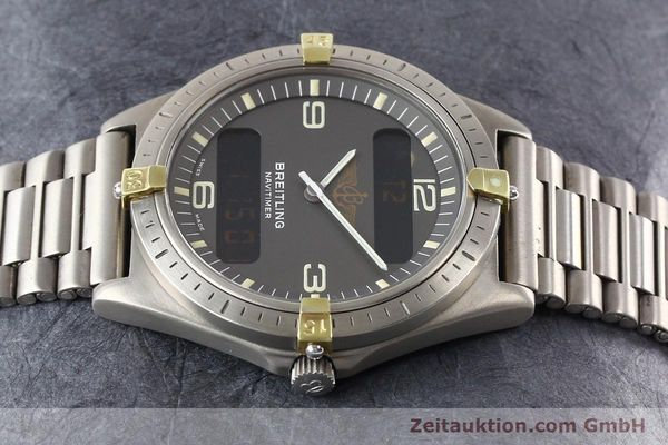Used luxury watch Breitling Aerospace titanium / gold quartz Ref. 80360  | 140821 05