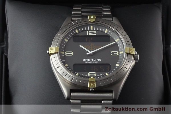 Used luxury watch Breitling Aerospace titanium / gold quartz Ref. 80360  | 140821 07