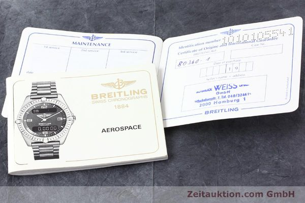 Used luxury watch Breitling Aerospace titanium / gold quartz Ref. 80360  | 140821 08