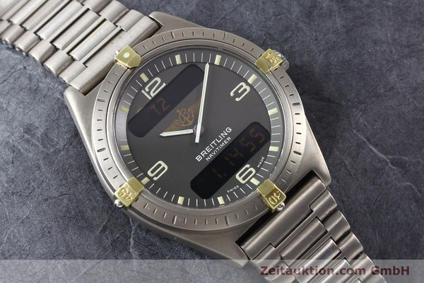 Used luxury watch Breitling Aerospace titanium / gold quartz Ref. 80360  | 140821 14