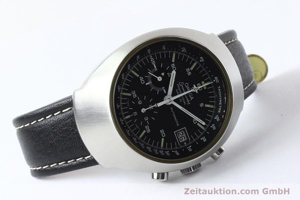 Used luxury watch Omega Speedmaster steel automatic Kal. 1040 Ref. 176002  | 140822 03
